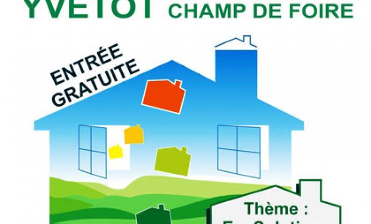 Affiche - Salon de l'Habitat - YVETOT