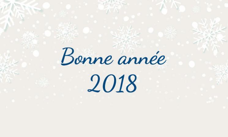 Bonne annnée 2018 !